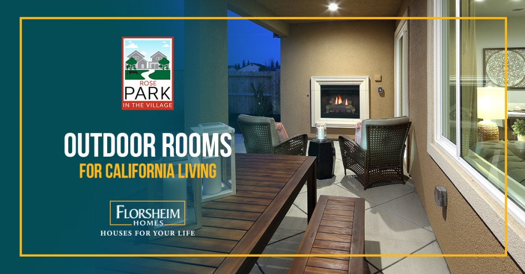 ROSE PARK HOMEBUYERS LOVE OUTDOOR ROOMS