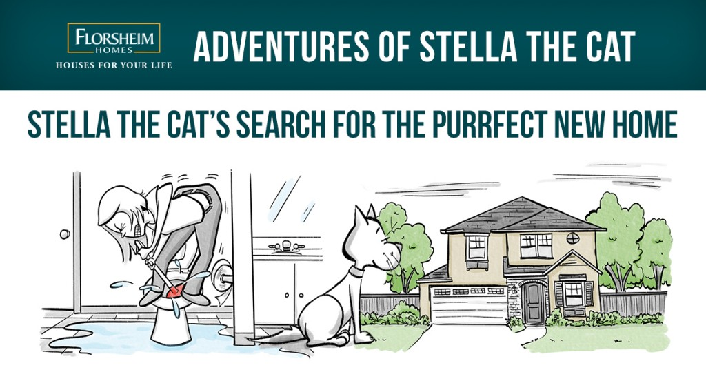THE SEARCH FOR THE PURRFECT NEW HOME
